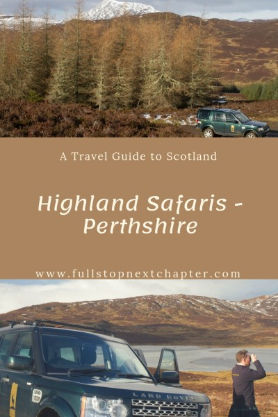 Pin for later - Highland Safaris, Perthshire