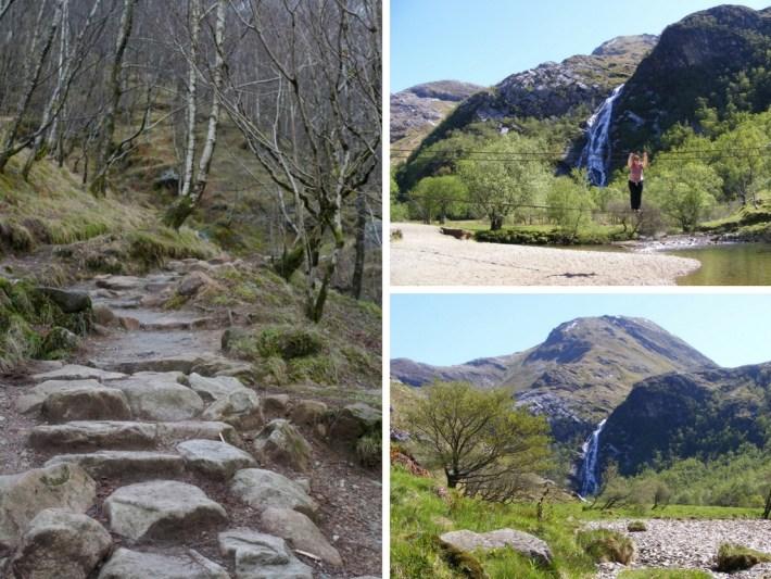 Steall Falls, Waterfalls in Scotland,