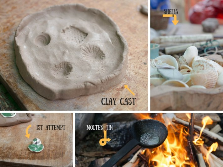 Clay casting, Scottish Crannog Centre