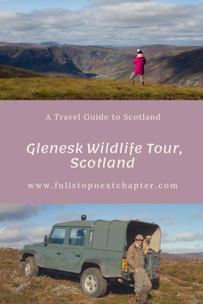 Pin for later - Glenesk Wildlife Tour