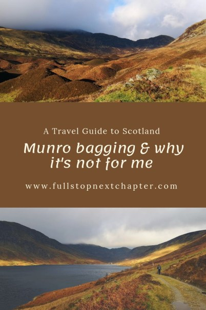 Munro bagging and why it's not for me