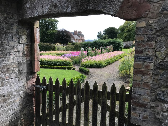 Walled Garden at Cringletie House, Scottish Borders