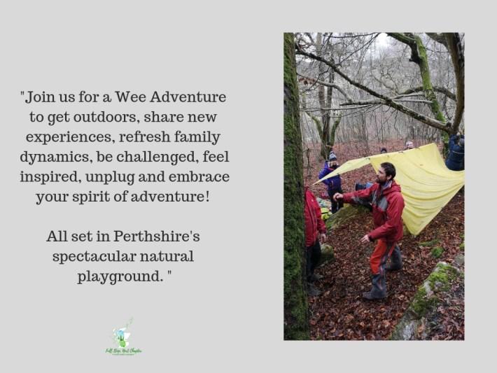 Wee Adventures, Aberfeldy, Scotland