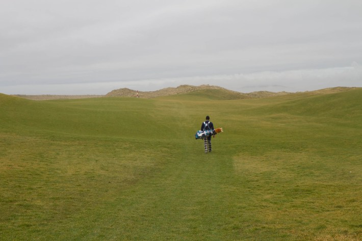 Fairway on the Machrie Links Golf Course