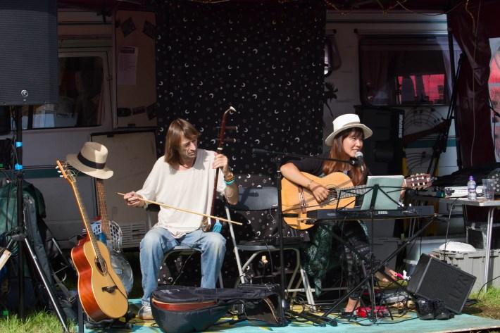 Performers at Belladrum Festival, Scotland