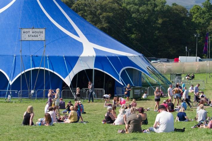 Belladrum Hot House Stage, Scotland