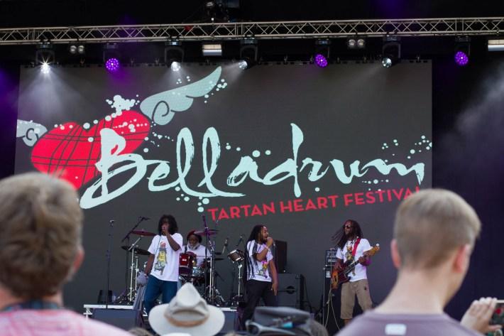 Royal Sounds playing Belladrum festival, Scotland