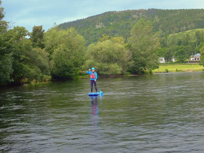 Beyond Adventure, SUP experience on the river Tay