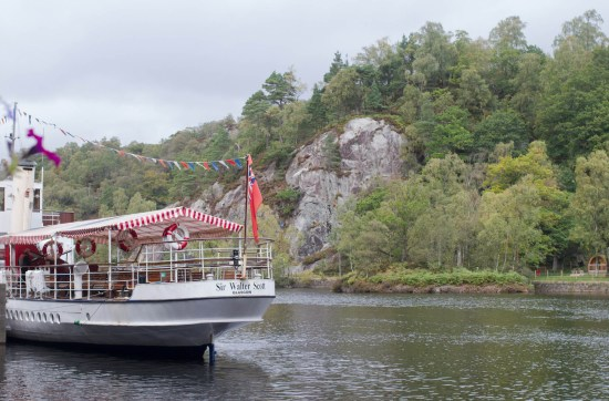 Sir Walter Scott steam boat, Loch Katrine