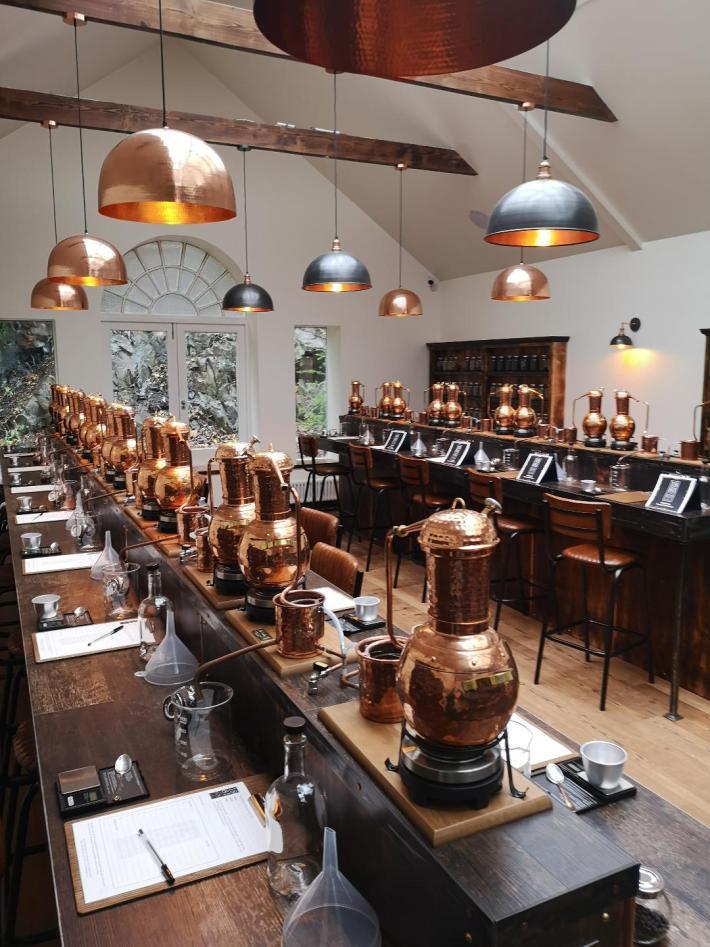 1881 distillery. Gin School Experience. Scotland