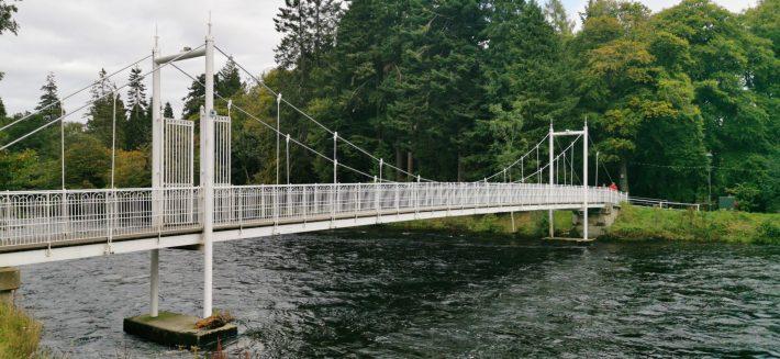 Image of: Ness Walk bridges, Inverness