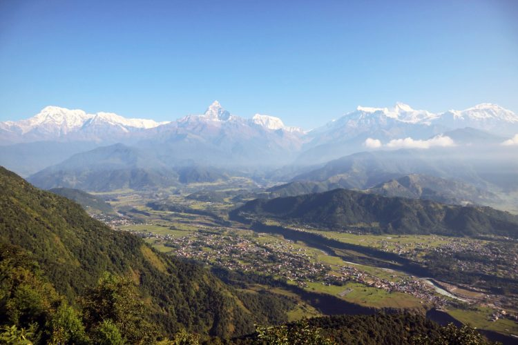 Things to do in Pokhara Nepal Sarangkot Trek Sunrise