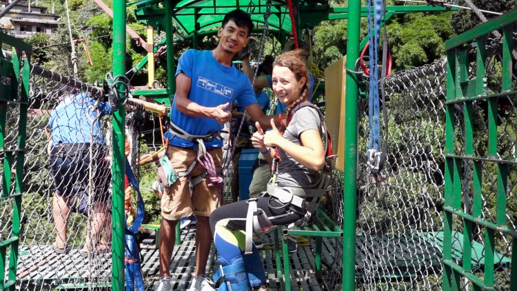 Bungee Bungy Jump Nepal The Last Resort
