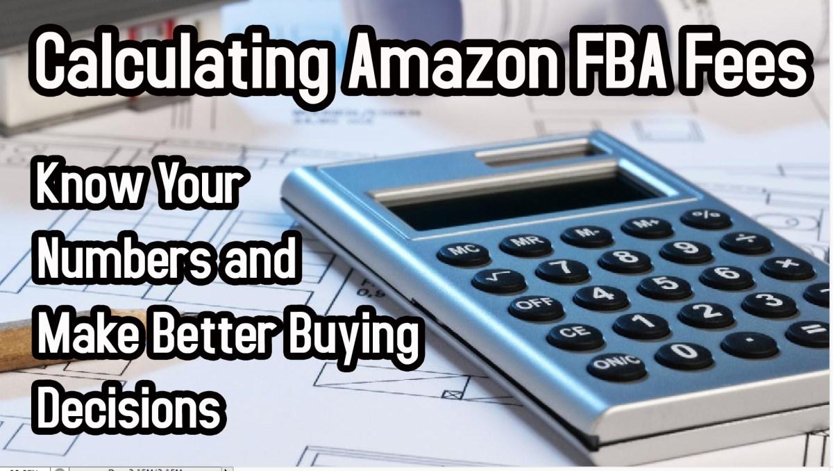 amazon fba fees calculator