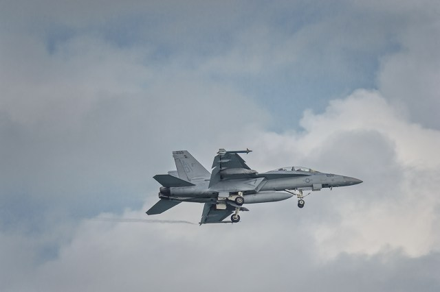 F/A-18 Hornet coming home