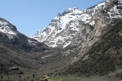 Lamoille Canyon Glacier