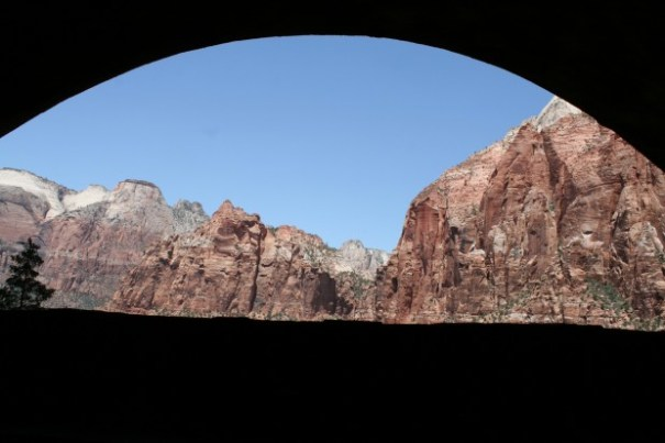 Another window in the tunnel.