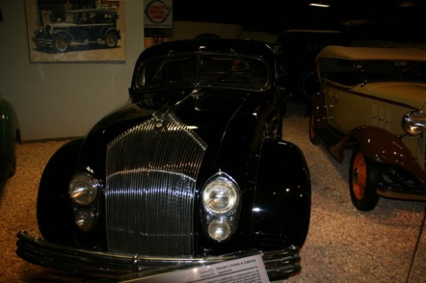 More grill than on our barbeque.  1934 Chrysler.