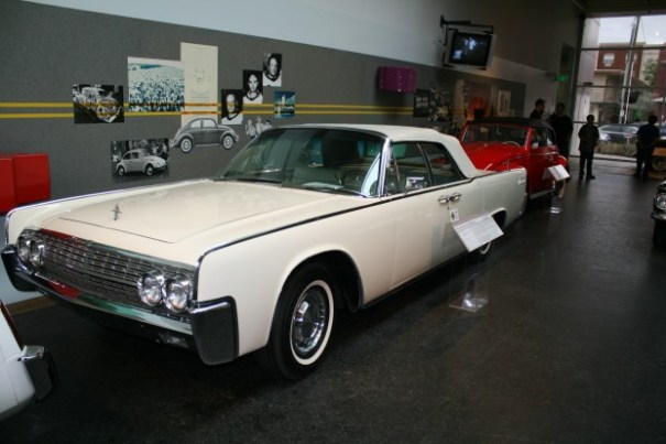 1962 Lincoln assigned to JFK.
