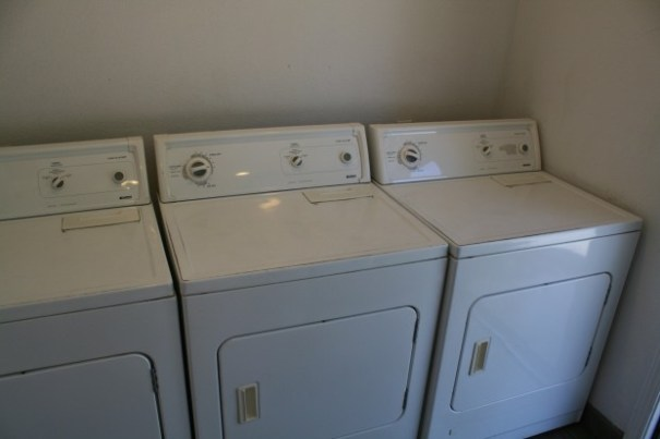 3 less nice, less new, Kenmore dryers, one of which was not working, no heat.
