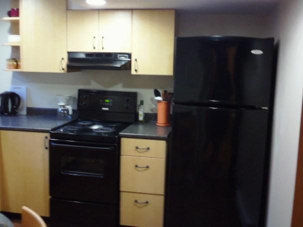 Nice kitchen, well stocked.