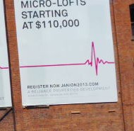 "Not sure what a ""micro-loft"" is, other than $110,000.  Today's exchange rate is .97 us = 1.00 Canadian."