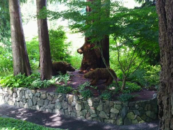 Topiary Bears.