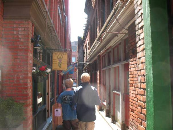 Alleys, not like Silk Alley, but captures the spirit.