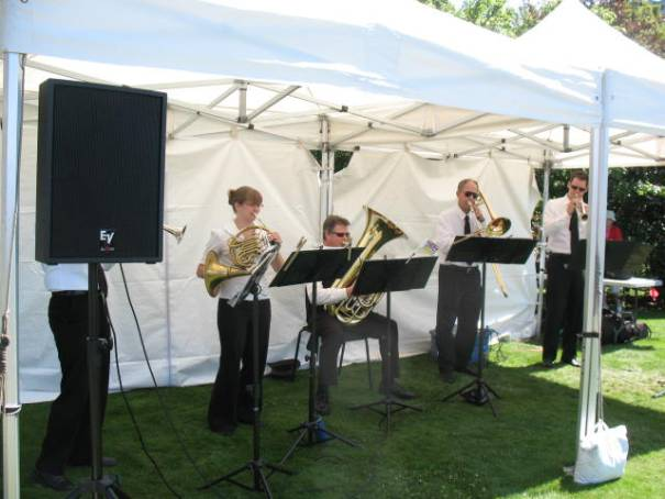 Brass Quintet, excellent.