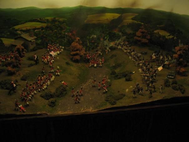 War in miniature.