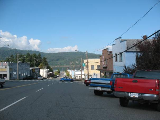 Port Alberni is a town that appears full of hard working people.  It is spread out.