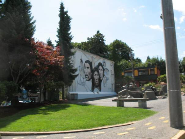 First Nations Mural.