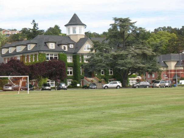 The main building at St Michael's.