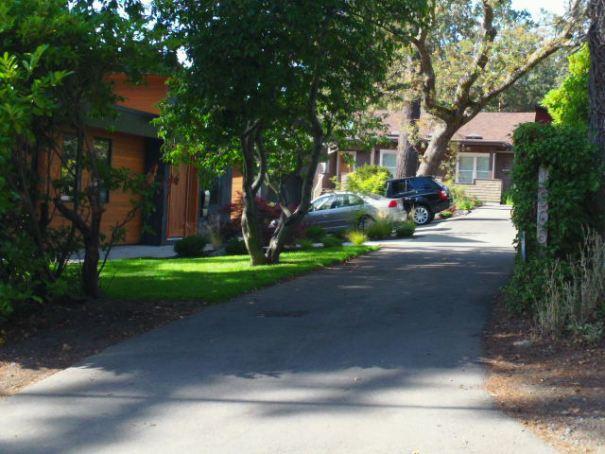 Houses next door.
