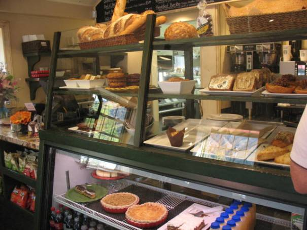 Counter at the Big Wood Bread Cafe.