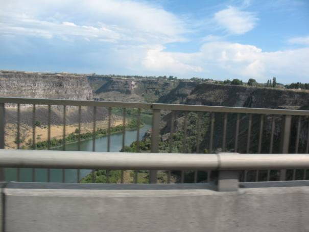 Snake River Canyon on the way back home.
