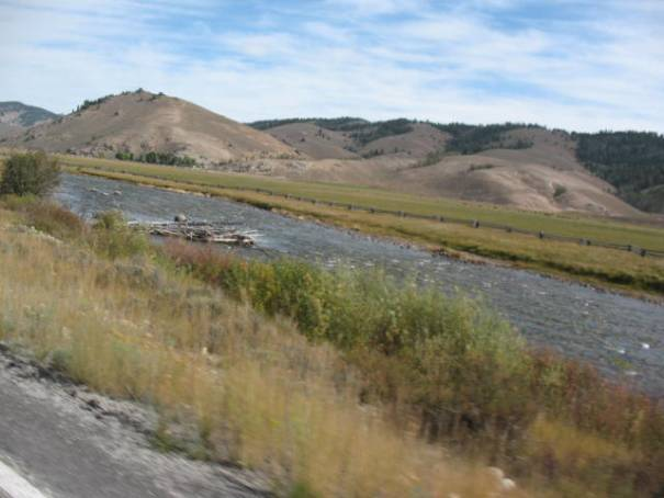 Canyons, meadows, flood plains, the Salmon River was always changing.