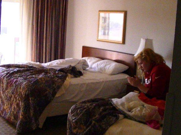 Okay room in The Dalles.