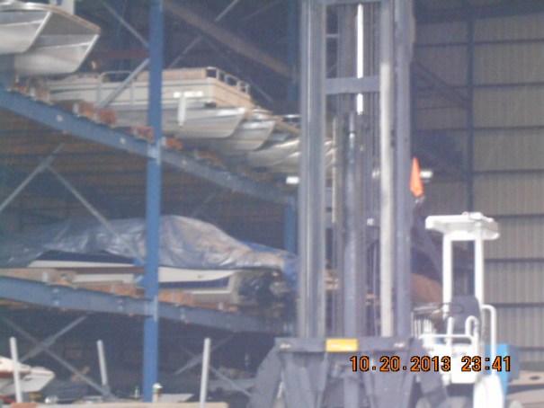 Boat warehouse