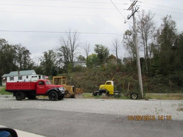 Fun old trucks in Sparta, Tennessee.