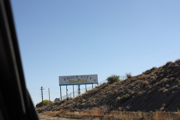 Price City Sign