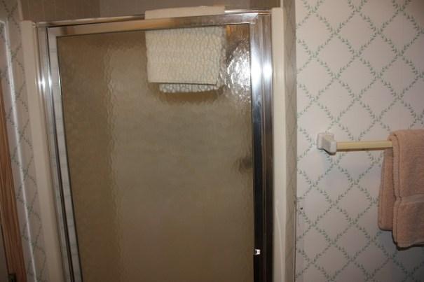 Lex's shower.
