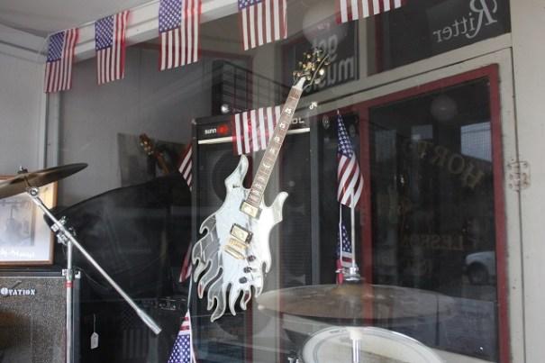 Hardy Music store.