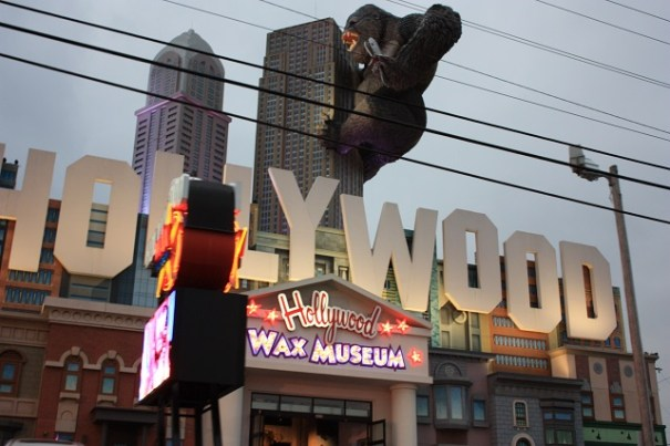 King Kong at the Wax Museum.