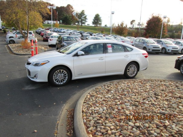 We fell in love with this car and came so close to buying it.  An Avalon Hybrid.