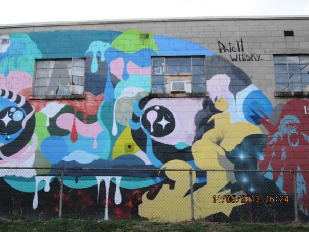 Mural in Asheville.