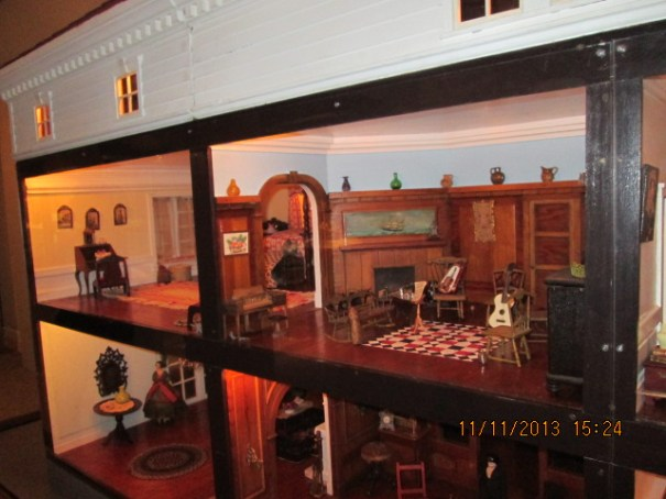 Giant doll house in the museum.