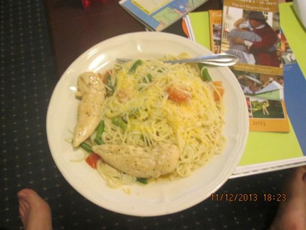 My dinner.