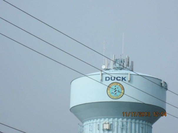 The Duck city water tank.