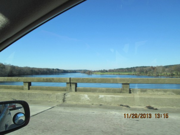 I think this was the Savannah river.